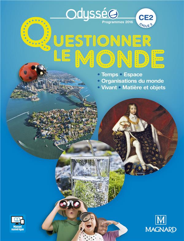 QUESTIONNER LE MONDE CE2  ELEVE