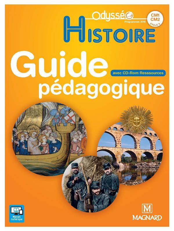Odysseo histoire cm1-cm2 (2017) - banque de ressources sur cd-rom avec guide p