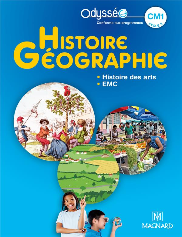 Odysseo histoire-geographie cm1 (2020) - manuel eleve