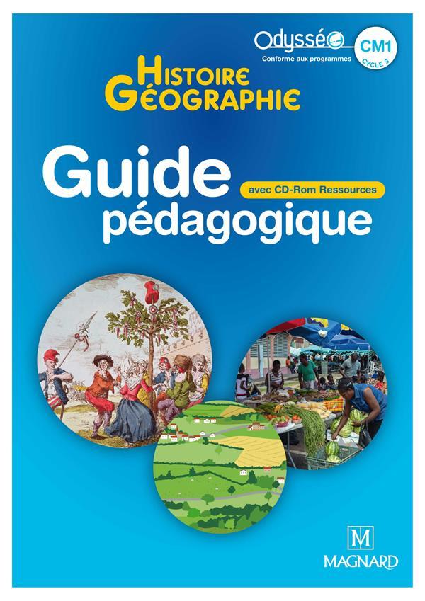 Odysseo histoire-geographie emc cm1 (2020) - banque de ressources sur cd-rom a