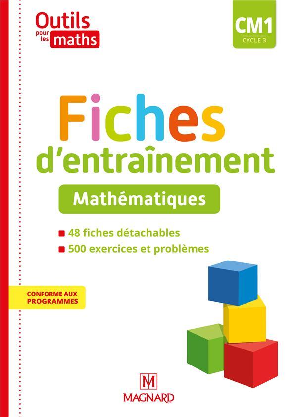 Outils pour les maths cm1 (2020) - fiches d'entrainement