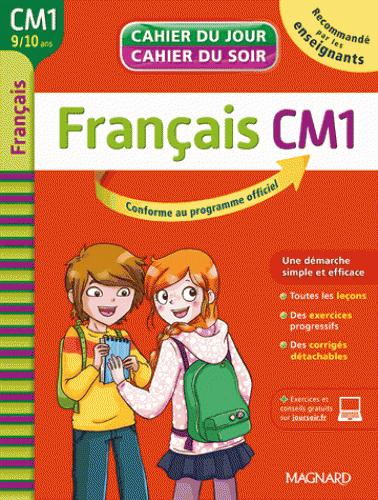 CAHIER DU JOUR/CAHIER DU SOIR - FRANCAIS CM1