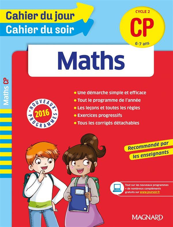 CAHIER DU JOUR/CAHIER DU SOIR - MATHS CP