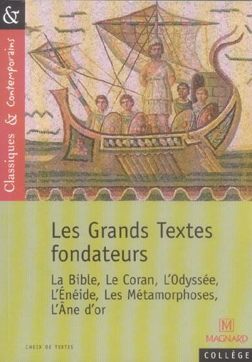 66 / GRANDS TEXTES FONDATEURS (LES)