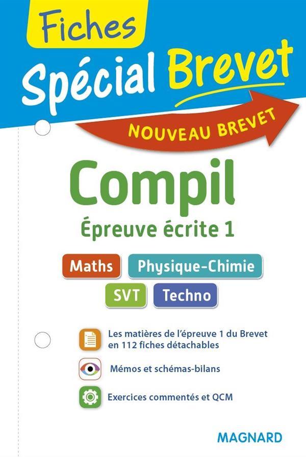 COMPIL DE FICHES MATHS, PHYS./CHIMIE, SVT, TECHNO 3E