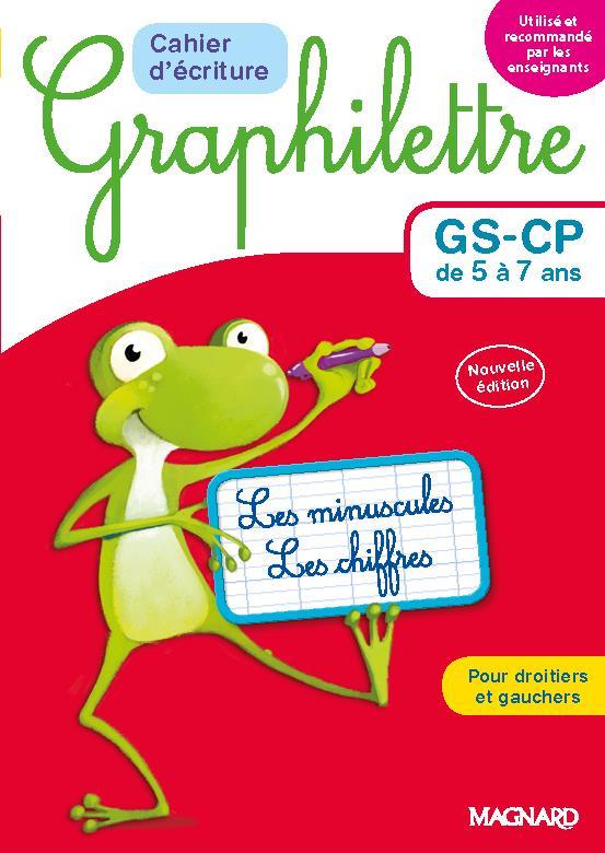 Graphilettre - cahier d'ecriture gs/cp