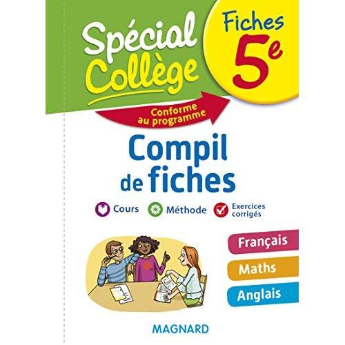 COMPIL DE FICHES 5E 2018