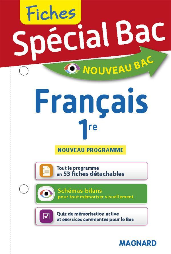 FICHES FRANCAIS 1RE