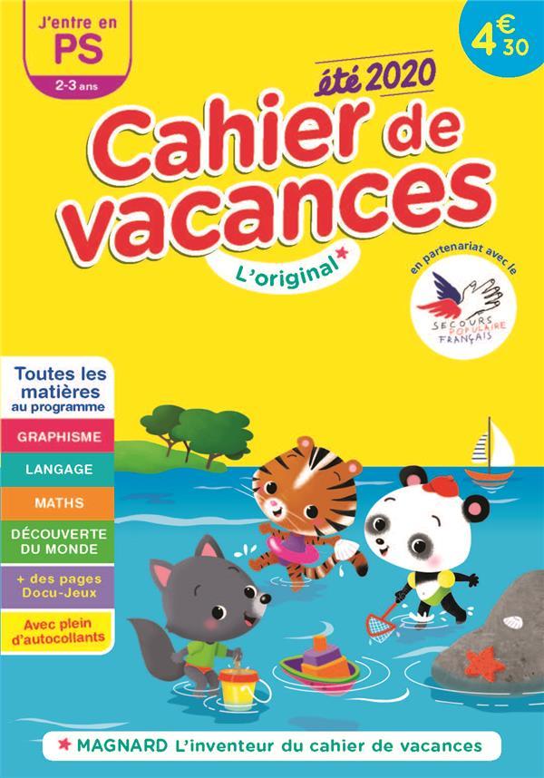 CAHIER DE VACANCES 2020, J'ENTRE EN PETITE SECTION 2-3 ANS