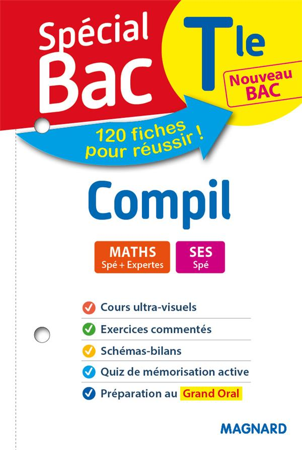 SPECIAL BAC COMPIL 2 - SPES MATHS, SES TERMINALE BAC 2021