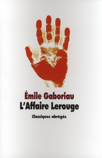 AFFAIRE LEROUGE (L)