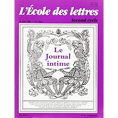 JOURNAL INTIME REV