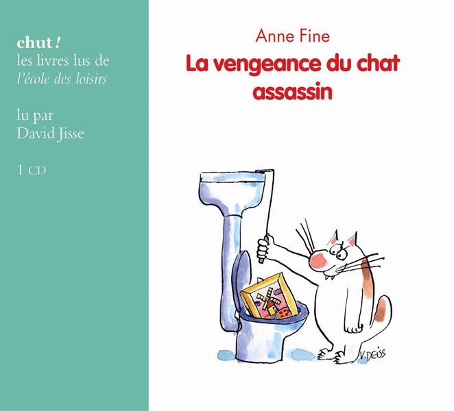LA VENGEANCE DU CHAT ASSASSIN (CD LIVRE LU)