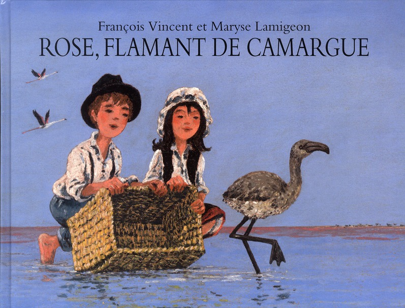 ROSE FLAMANT DE CAMARGUE