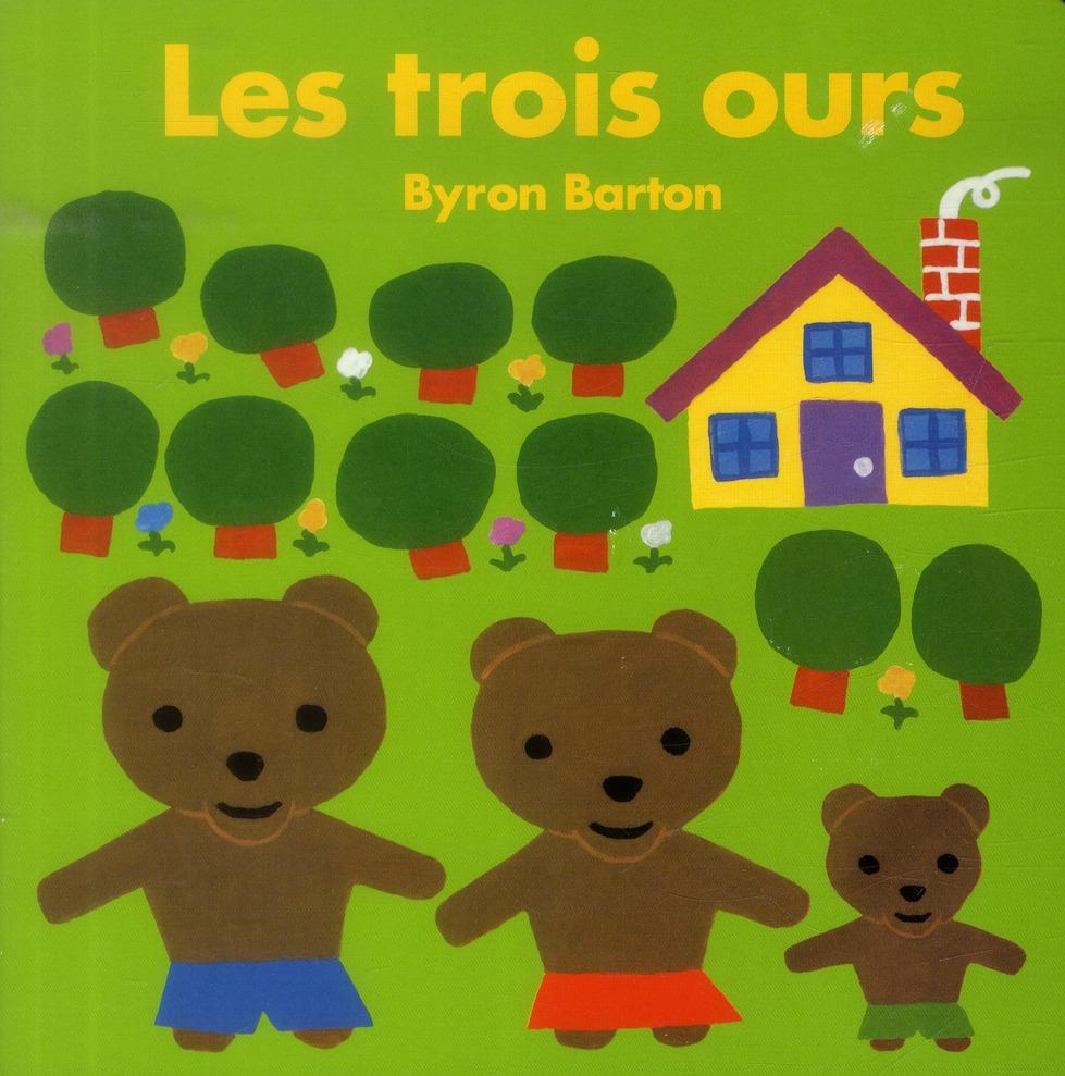 Les trois ours (tout carton)