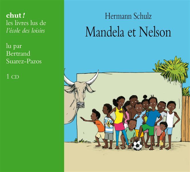 MANDELA ET NELSON LIVRE LU (3CD)