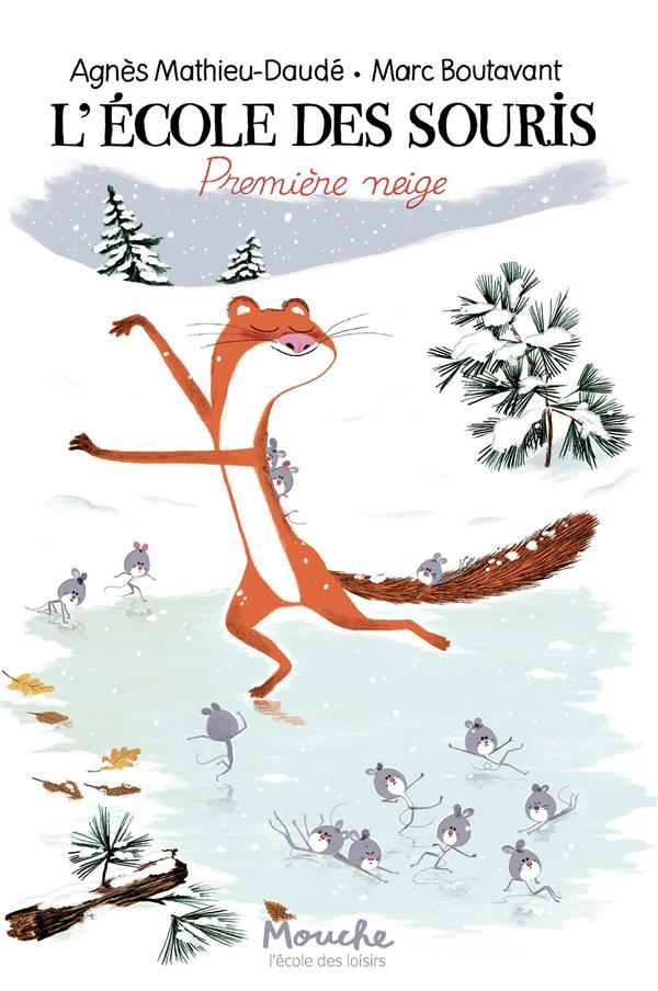 L'ecole des souris - premiere neige