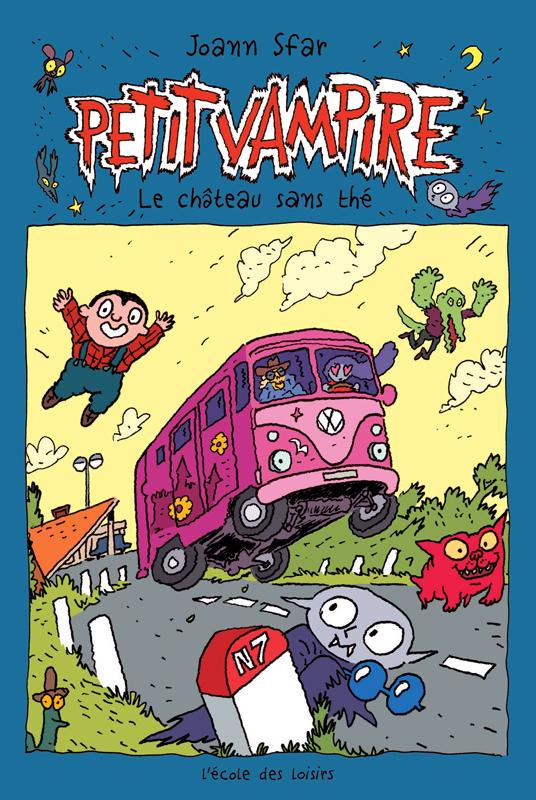 Petit vampire - tome 3 - le chateau sans the