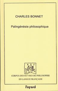 PALINGENESIE PHILOSOPHIQUE, 1770
