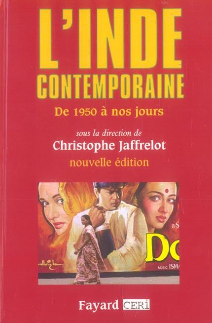 L'INDE CONTEMPORAINE - DE 1950 A NOS JOURS