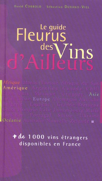 GUIDE FLEURUS DES VINS D'AILLEURS (LE)