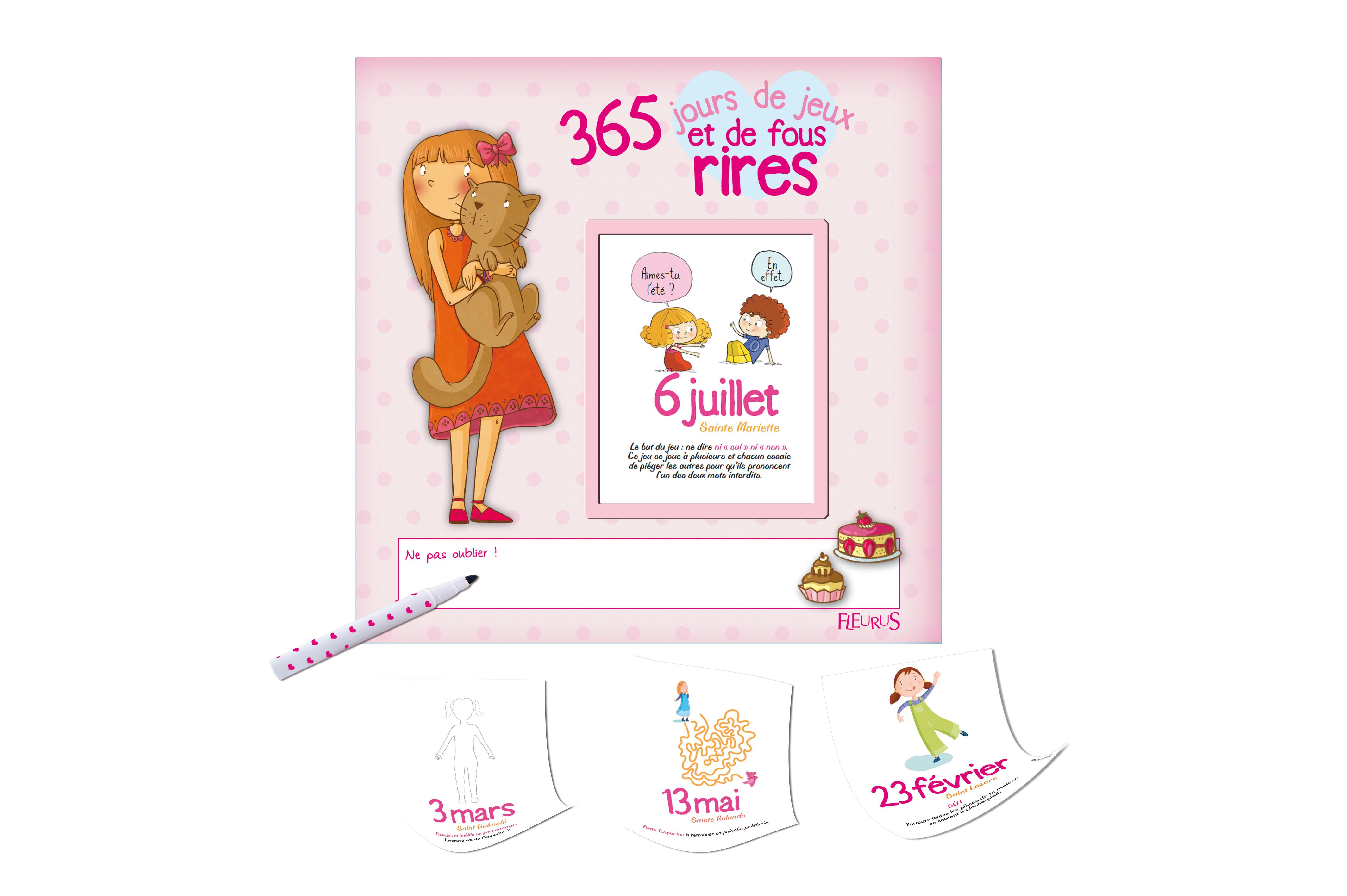365 JOURS JEUX FOUS RIRES-FILLES