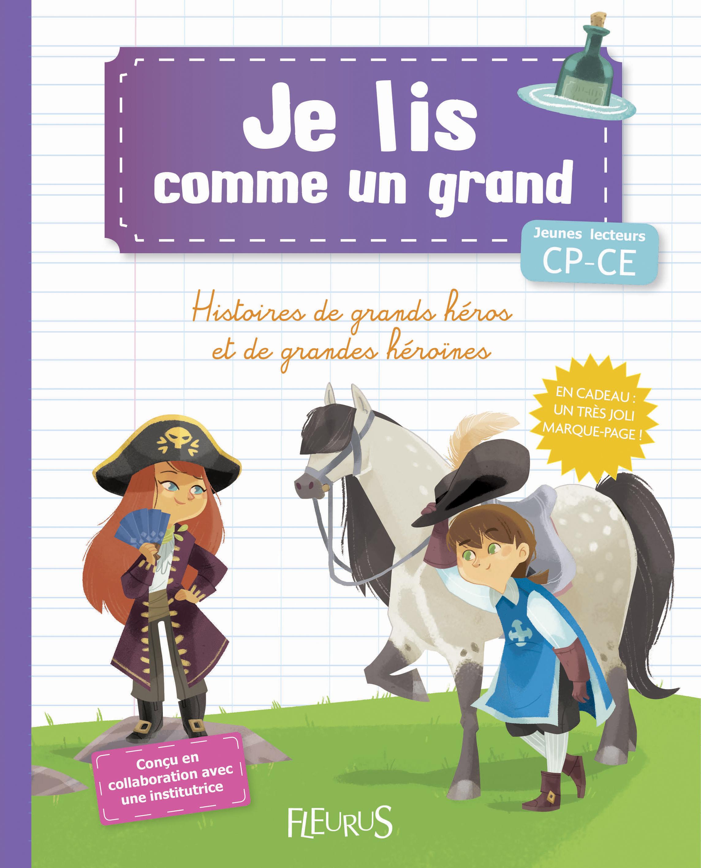 HISTOIRES DE GRANDS HEROS ET DE GRANDES HEROINES (+MARQUE-PAGE)