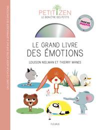 LE GRAND LIVRE DES EMOTIONS (LIVRE CD)