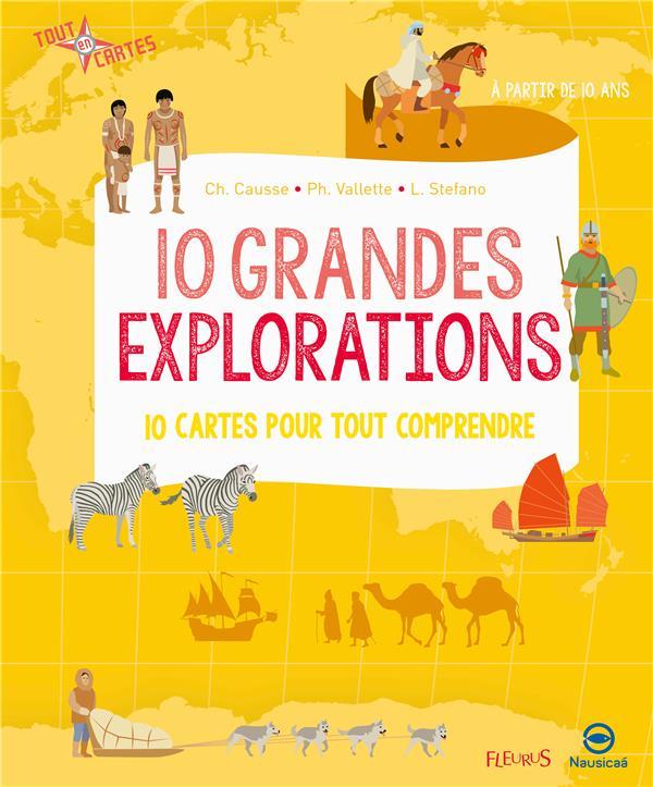 10 GRANDES EXPLORATIONS