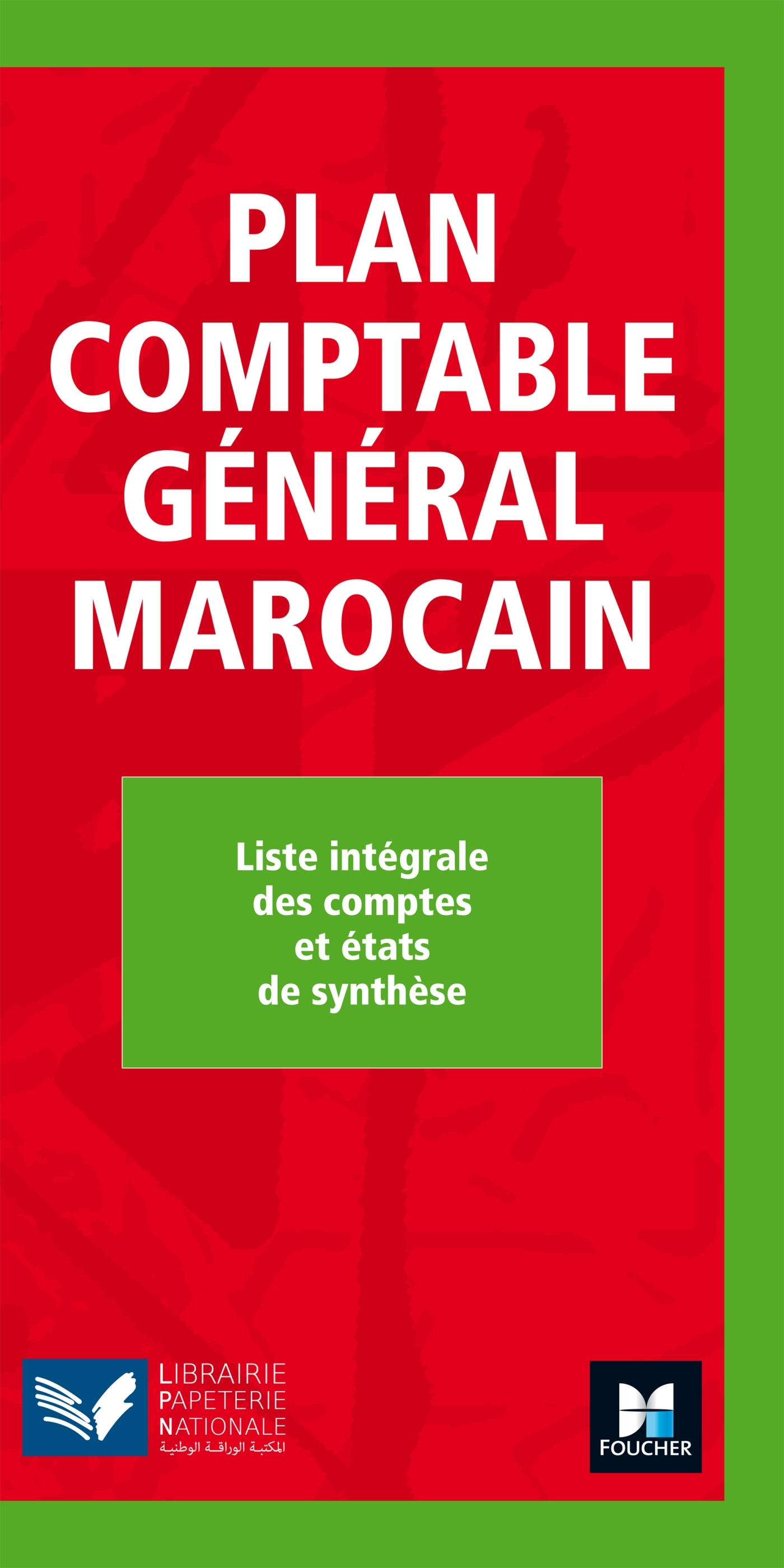PLAN COMPTABLE GENERAL MAROCAIN QUADRI N.E