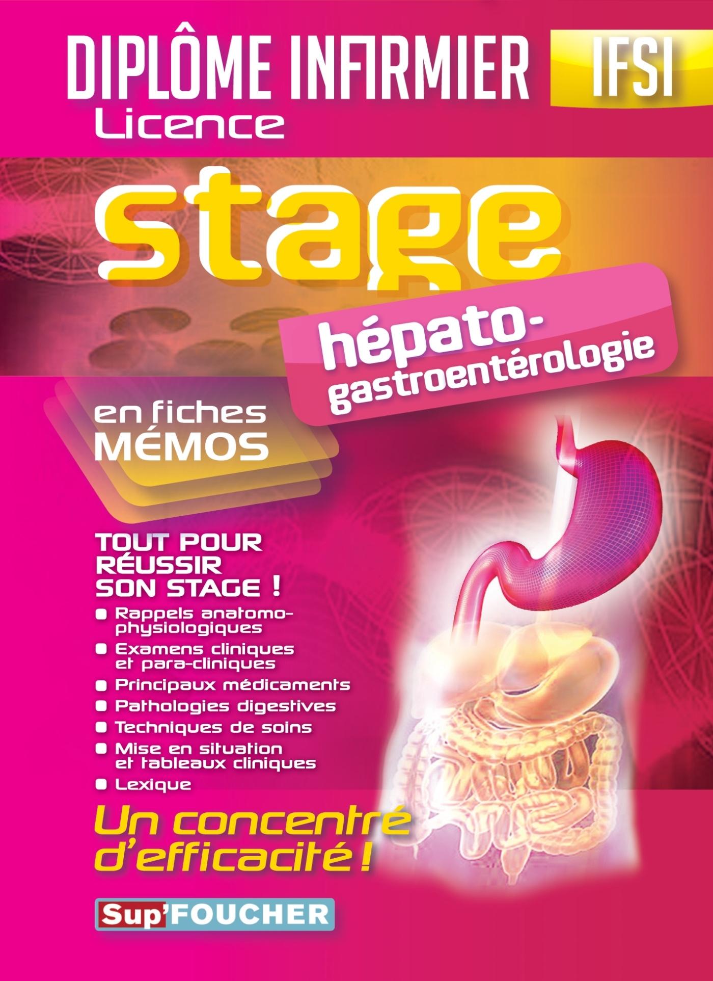 IFSI STAGE HEPATO-GASTROENTEROLOGIE - DIPLOME INFIRMIER