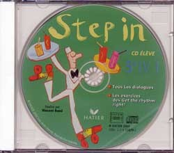 STEP IN ANGLAIS 5E - CD AUDIO ELEVE, ED. 2000