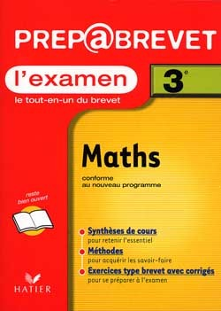 PREP BREVET L'EXAMEN - MATHEMATIQUES 3EME