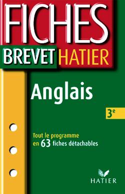 FICHES BREVET  - ANGLAIS 3EME