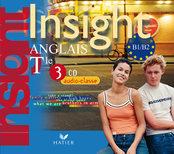 INSIGHT ANGLAIS TLE ED 2008 - 3 CD AUDIO CLASSE