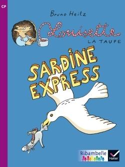 RIBAMBELLE CP SERIE VIOLETTE ED. 2014 - SARDINE EXPRESS - ALBUM BD 6