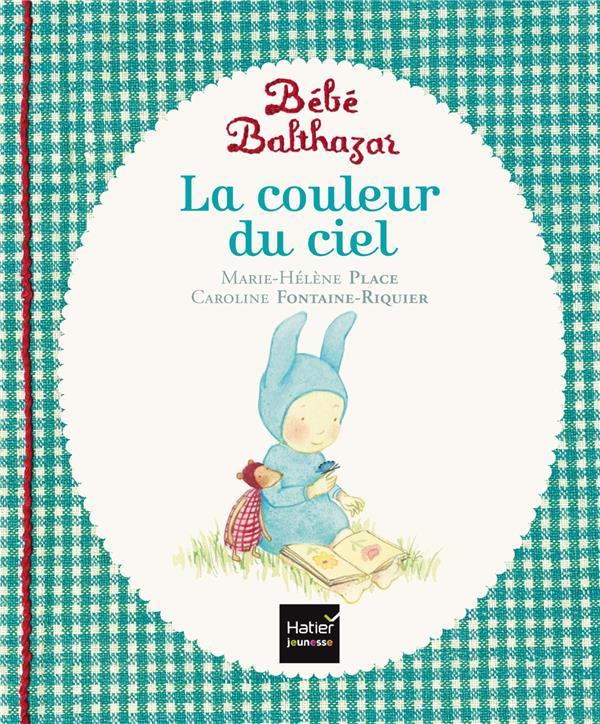 BEBE BALTHAZAR - LA COULEUR DU CIEL - PEDAGOGIE MONTESSORI 0/3 ANS