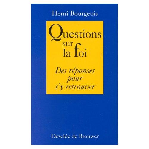 QUESTIONS SUR LA FOI (N.E.)(POCHE)
