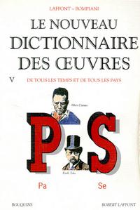 NOUVEAU DICTIONNAIRE DES OEUVRES - TOME 5 - VOL05