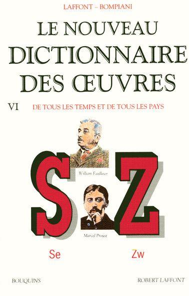 NOUVEAU DICTIONNAIRE DES OEUVRES - TOME 6 - VOL06