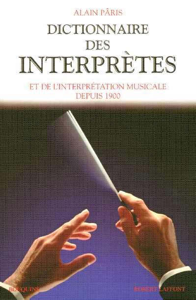 DICTIONNAIRE DES INTERPRETES - NE