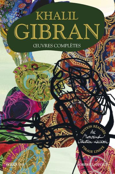 Oeuvres completes - edition realisee par monsieur christian lacroix - tirage limite