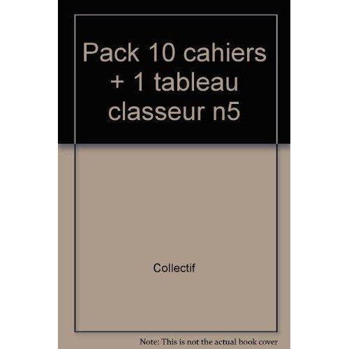 LE COIN LECTURE 5 - LOT DE 10 CAHIERS ELEVES + 1 TABLEAU DE BORD