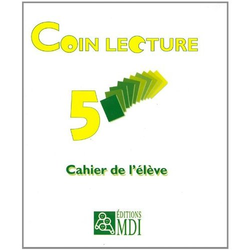 PACK 5EX CAHIER COIN LECTURE