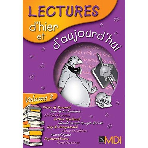 LECTURES D'HIER ET D'AUJOURD'HUI CM1-CM2 - LOT DE 6 LIVRES