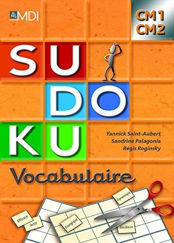SUDOKU VOCABULAIRE CM1/CM2