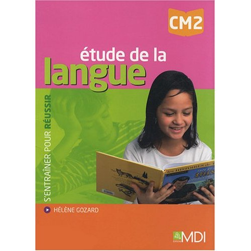ETUDE DE LA LANGUE CM2
