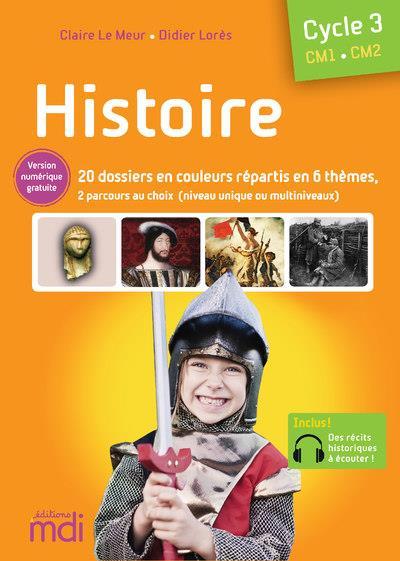 Mdi histoire - fichier cm - 2020