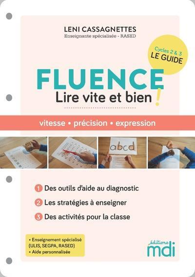 Mdi - fluence - 50 activites pour lire vite et bien !