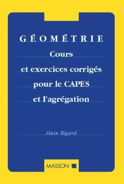 GEOMETRIE CRS CORR CAPES AGREG